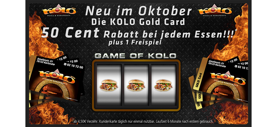 KOLO GOLD CARD